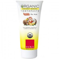 Купить Radius USDA Organic Children's Toothpaste Coconut Banana Киев, Украина